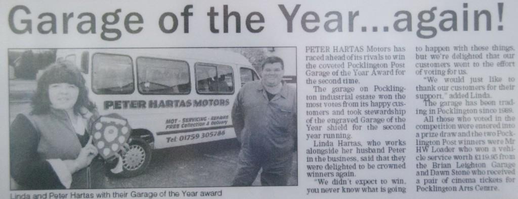 Award Winning Garage